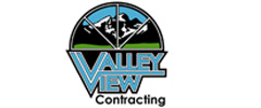 Valley View Contracting 240 by 100 footer ad template