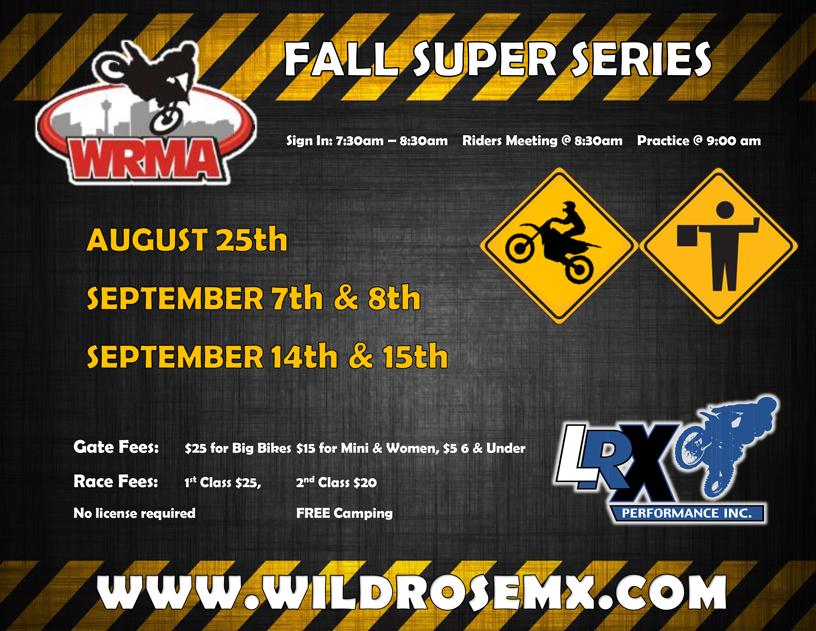 Wild Rose Motocross Association | Motocross Park located in